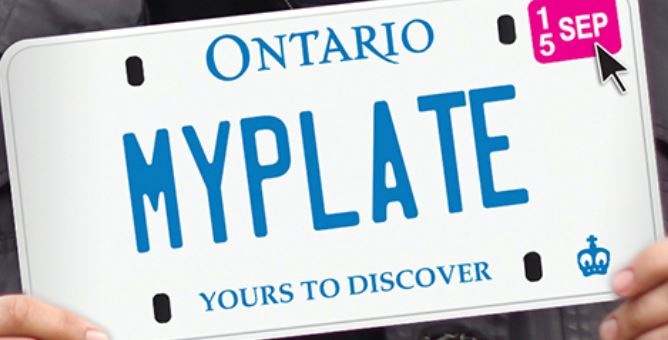 ontario drivers license plate renewal